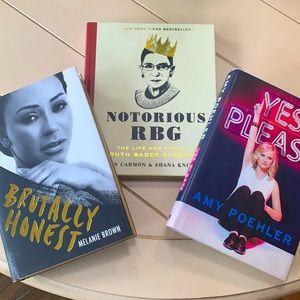 Strong women book bundle encouraging biographies 3